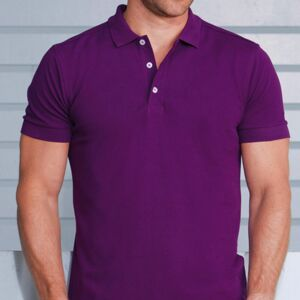 RUSSELL<br>Stretch Polo con Lycra Thumbnail