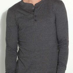 BELLA CANVAS<br>Jersey Henley 4 Bottoni Thumbnail