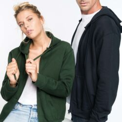 KARIBAN Full Zip Unisex Thumbnail